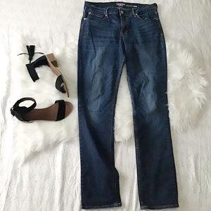 Dark Wash Modern Slim Jeans // Denizen Levi's